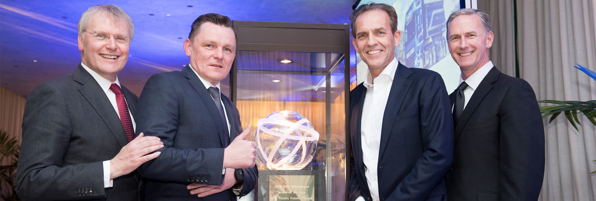 DAF 2018 International Dealer of the year