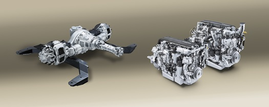 DAF Components - Axle and Engines