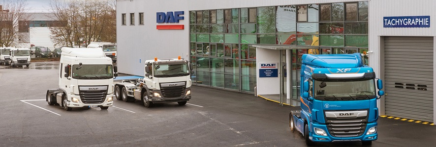 DAF opent Paris dealership
