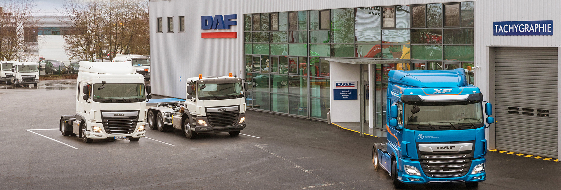 DAF opens Paris dealership premises